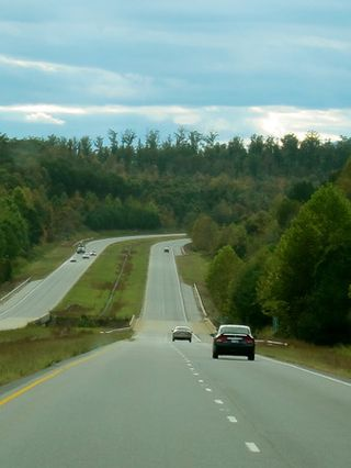 Road to Asheville
